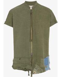 Greg Lauren - Army Tent Shirt - Lyst