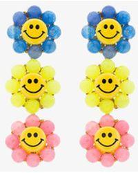 Venessa Arizaga - Happy Flower Earrings - Lyst