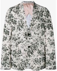 Gucci - Tailored Floral Blazer - Lyst