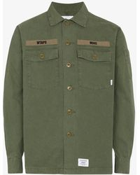 WTAPS - Army Chest Pocket Shirt - Lyst