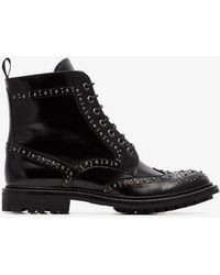 Church's - Angelina Studded Ankle Boots - Lyst