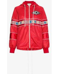 Gucci - Magnetismo Stripe Net Jacket - Lyst