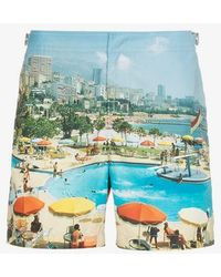 Orlebar Brown - Bulldog Monte Carlo Print Swim Shorts - Lyst