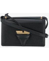 Loewe - Black Barcelona Leather Shoulder Bag - Lyst