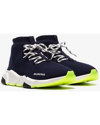 Balenciaga - Men's Lace-up Speed Sneakers - Lyst