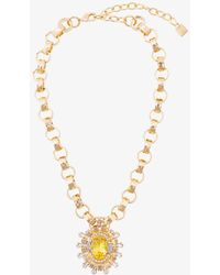 DANNIJO - Canary Necklace - Lyst