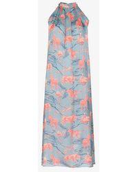 Chufy - Ebel Silk Maxi Dress - Lyst