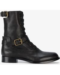 Chloé - Otto Lace-up Boots - Lyst