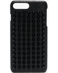 Christian Louboutin - Loubiphone Spike Leather Iphone® 8+ Case - Lyst