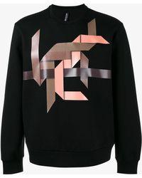 Neil Barrett - Modernist Sweatshirt - Lyst