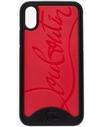 Christian Louboutin - Loubiphone Rubber Iphone X Case - Lyst