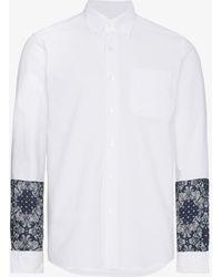 Sophnet - Bandana Panel Sleeve Shirt - Lyst