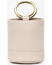 Simon Miller - Bonsai Bucket Bag With Gold Hoop Handles - Lyst