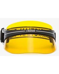 Dior - Yellow Diorclub1 Perspex Visor - Lyst