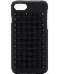 Christian Louboutin - Loubiphone Spike Embellished Iphone 7 Case - Lyst