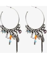 DANNIJO - Ajani Hoop Earrings - Lyst