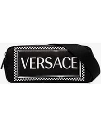 Versace - Logo Crossbody Belt Bag - Lyst
