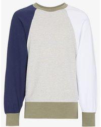 Visvim - Big Sleeve Cotton Sweatshirt - Lyst