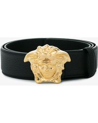 Versace | Palazzo Belt With Medusa Buckle | Lyst