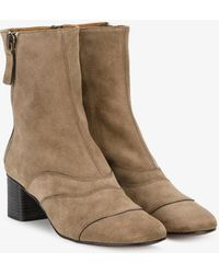 Chloé - 'lexie' Ankle Boots - Lyst