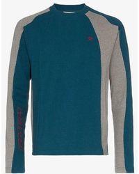 GmbH Europa Contrasting Colour Long Sleeve T-shirt
