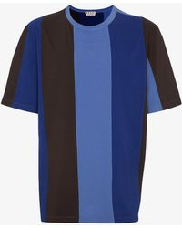 Marni - Vertical Stripe T-shirt - Lyst