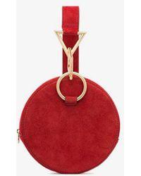 Tara Zadeh - Suede Bracelet Bag - Lyst