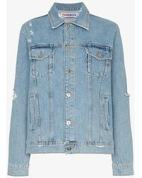 Filles A Papa - Tomboy Kurt Denim Jacket - Lyst
