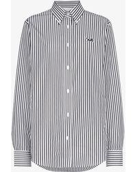Calvin Klein Jeans - Icon Striped Poplin Shirt - Lyst