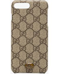 Gucci - Beige Ophidia Iphone 8 Plus Phone Case - Lyst