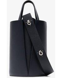 Danse Lente - Navy Lorna Mini Leather Shoulder Bag - Lyst
