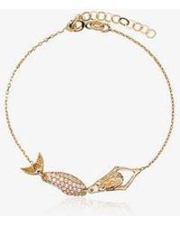 Anton Heunis - 18k Yellow Gold Mermaid Diamond Bracelet - Lyst