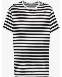 Yohji Yamamoto - Staff Stripe T-shirt - Lyst