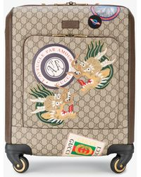 Gucci - Courier Gg Supreme Carry-on - Lyst