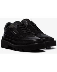 Rombaut - Black Protect Hybrid Vegan Leather Low-top Sneakers - Lyst