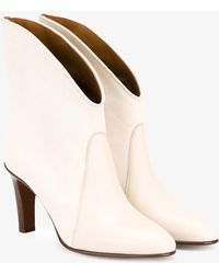 Chloé - 'kole' Leather Ankle Boots - Lyst