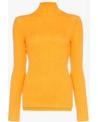 SJYP - High Neck Long Sleeve Fitted Rollneck - Lyst
