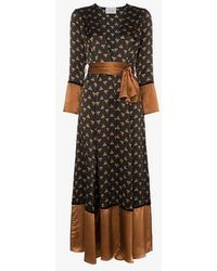 We Are Leone - Bumble Bee Contrast Maxi Cardigan - Lyst