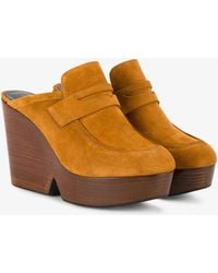 Clergerie - Damor Wedge Mules - Lyst