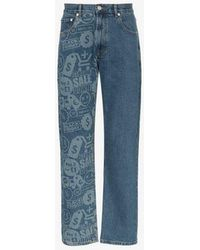 Cmmn Swdn Connor Printed Jeans