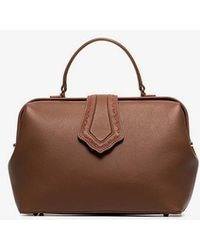 Mehry Mu - Brown Jung Leather Tote Bag - Lyst