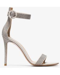 Gianvito Rossi - 105 Crystal Sandal - Lyst