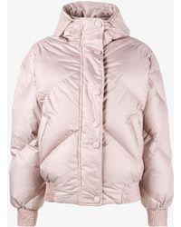 Ienki Ienki - Pink Dunlope Puffer Jacket With Hood - Lyst