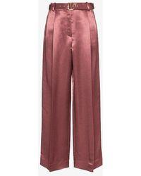 Sies Marjan - Blanche Satin Trousers - Lyst