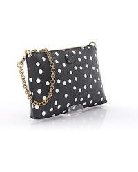 Dolce & Gabbana | Hand Bag Micro Bag Cross Body Fabric-mix Crepe Black Points White | Lyst
