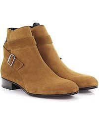 Balenciaga Boots Classic City Business Booty leather pO3rkxtTq