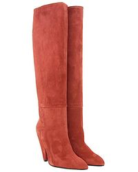 Giampaolo Viozzi - Boots Suede Brown - Lyst