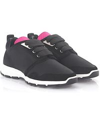 DSquared² - 2 Sneaker Marte Run Hightech-jersey Black Pink Suede Black - Lyst