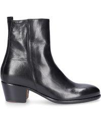 Elia Maurizi - Ankle Boots Alfa Calfskin Black - Lyst