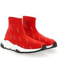 BalenciagaSneaker high Slip-On W05G0 Mesh schwarz 79G2eTR